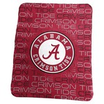 Logo University of Alabama 50 in x 60 in Classic Fleece Blanket - view number 1