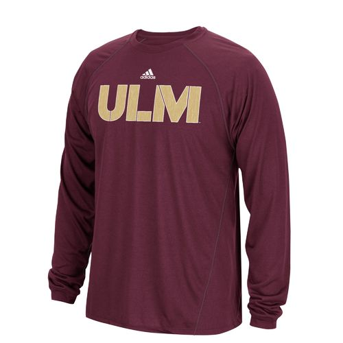 adidas Men's University of Louisiana at Monroe Sideline Spine T-shirt