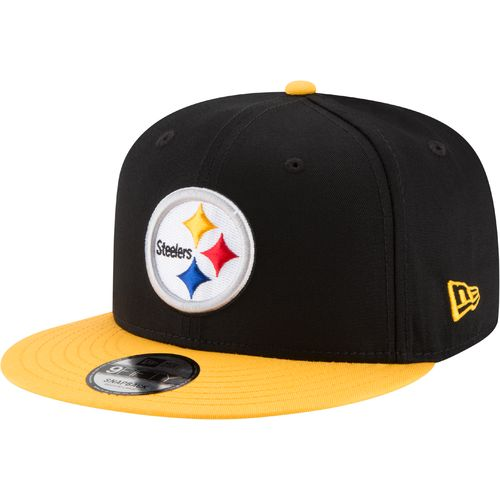 New Era Men's Pittsburgh Steelers 9FIFTY Baycik Snapback Cap