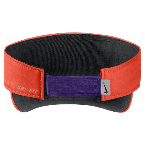 Nike™ Men's Clemson University AeroBill Sideline Visor - view number 2