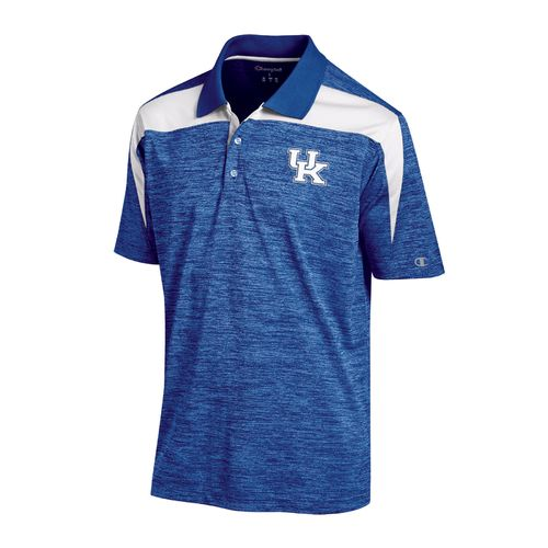 Champion™ Men's University of Kentucky Synthetic Colorblock Polo Shirt