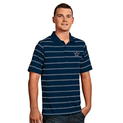 Antigua Men's Dallas Cowboys Deluxe Polo Shirt - view number 1