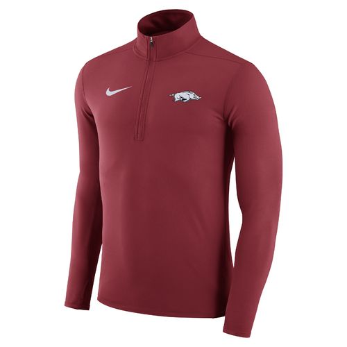 Nike Men's University of Arkansas Element 1/4 Zip Pullover - view number 1