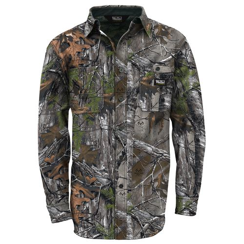 Walls Men's Cape Back Camo Long Sleeve Shirt - view number 1