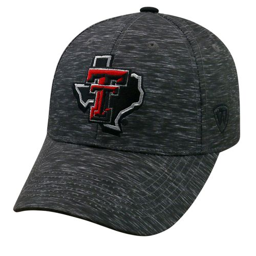 Top of the World Men's Texas Tech University Warpspeed Cap
