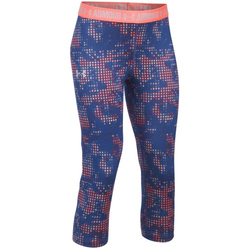 Display product reviews for Under Armour Girls' UA Printed Capri Pant