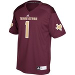 adidas Men's Texas State University Replica Football Jersey - view number 1