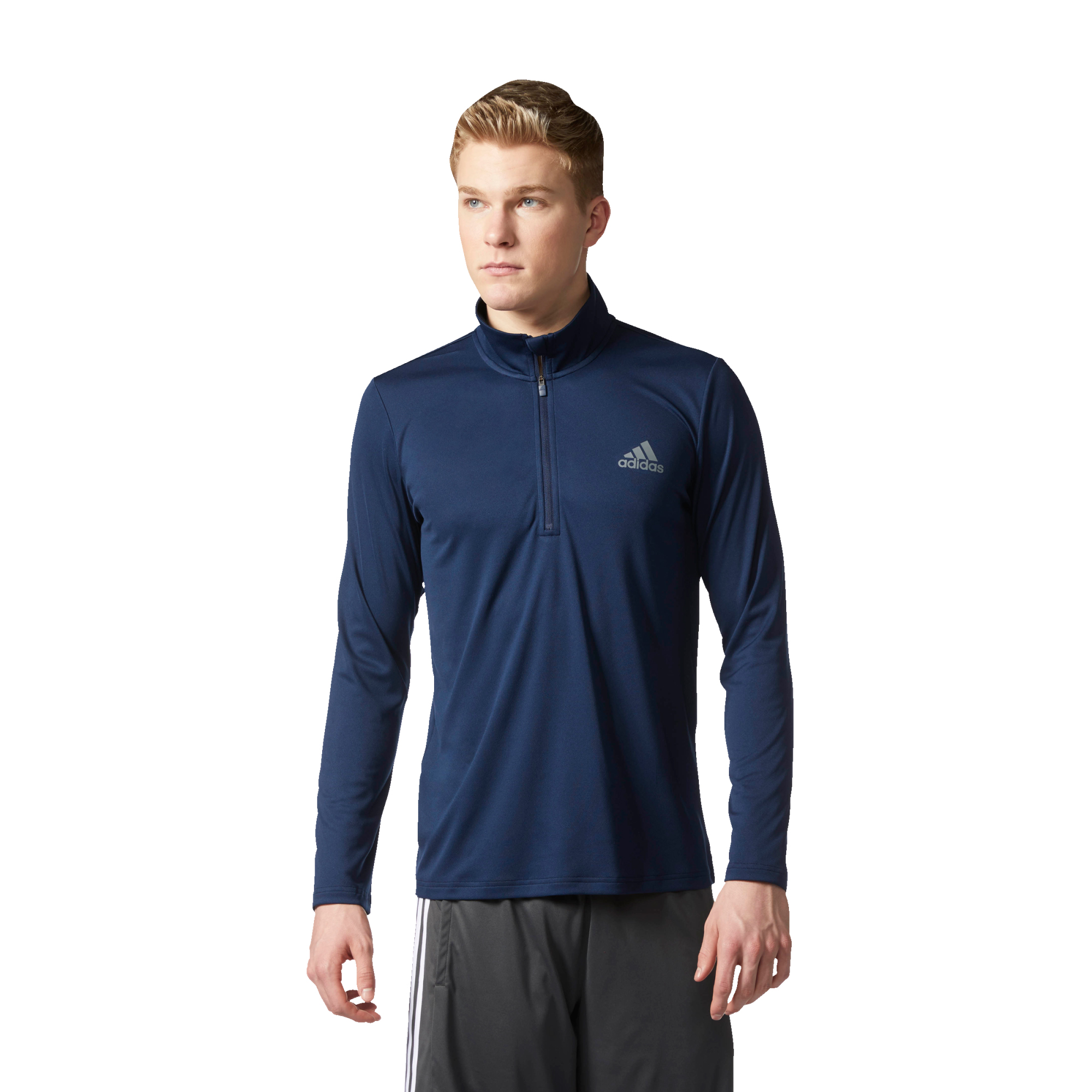 adidas Men's Essentials Tech 1/4 Zip Training Pullover - view number 1