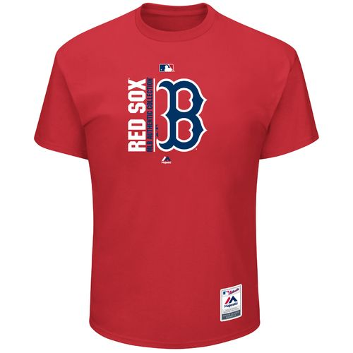 Majestic Men's Boston Red Sox Authentic On Field Team Icon T-shirt