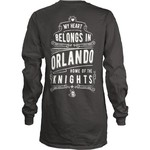 Three Squared Juniors' University of Central Florida Tower Long Sleeve T-shirt - view number 1