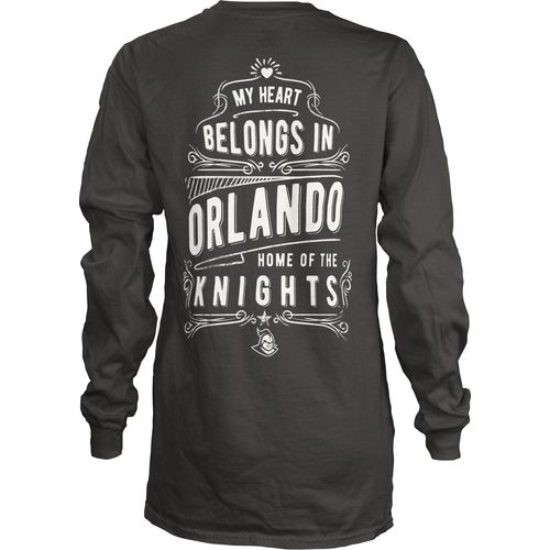 Three Squared Juniors' University of Central Florida Tower Long Sleeve T-shirt