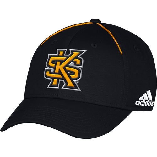 adidas Men's Kennesaw State University Coach Structured Flex Cap