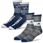 For Bare Feet Men's Dallas Cowboys Father's Day Socks - view number 1