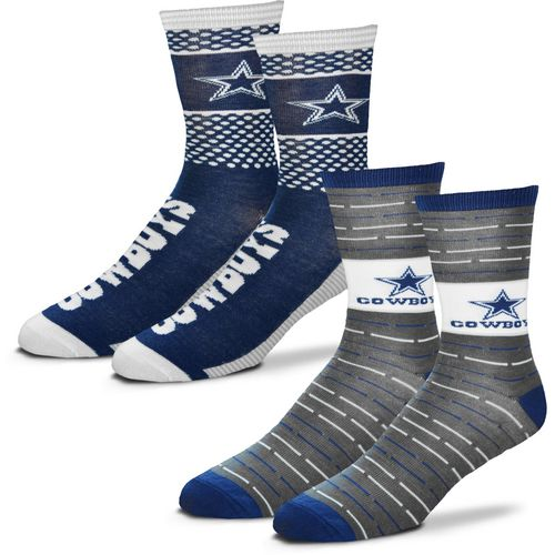 For Bare Feet Men's Dallas Cowboys Father's Day Socks