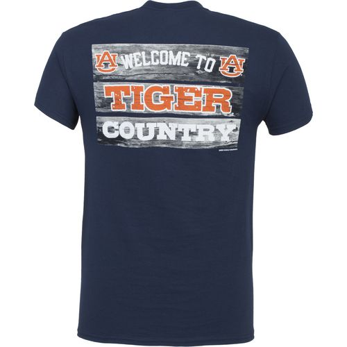 New World Graphics Men's Auburn University Welcome Sign T-shirt