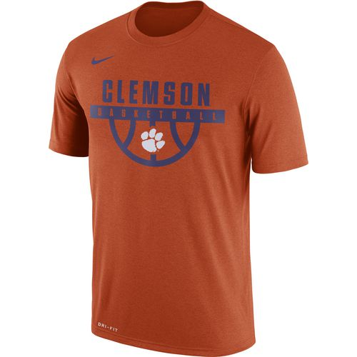 Nike Men's Clemson University Dry Legend Basketball Short Sleeve T-shirt