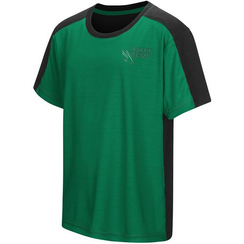 Colosseum Athletics Boys' University of North Texas Short Sleeve T-shirt