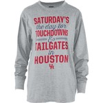 Three Squared Juniors' University of Houston Touchdowns and Tailgates T-shirt - view number 1