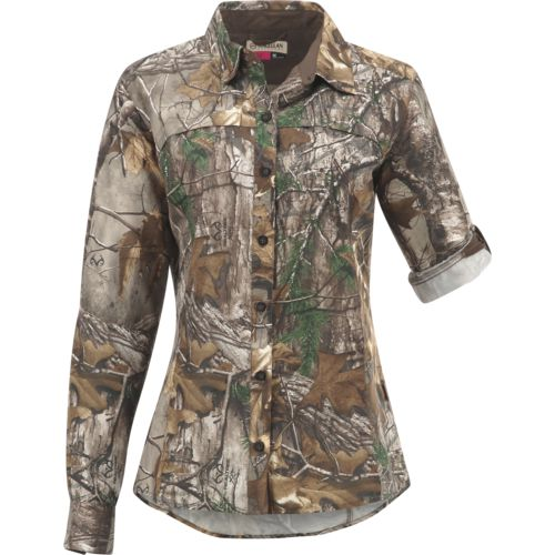 Display product reviews for Magellan Outdoors Women's Eagle Pass Deluxe Long Sleeve Shirt