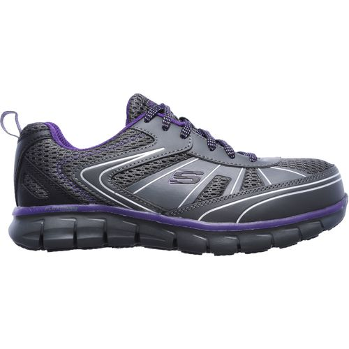 SKECHERS Womenu0026#39;s Synergy Algonac Alloy Toe Work Shoes | Academy
