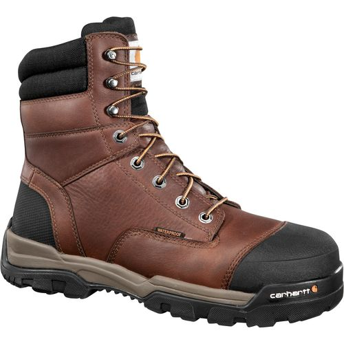 Carhartt Men's Ground Force 8 in Safety Toe Work Boots - view number 1
