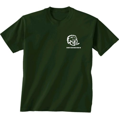 New World Graphics Women's Southeastern Louisiana University Terrain State T-shirt - view number 2