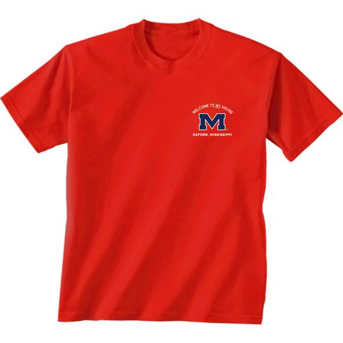 New World Graphics Men's University of Mississippi Friends Stadium T-shirt - view number 2