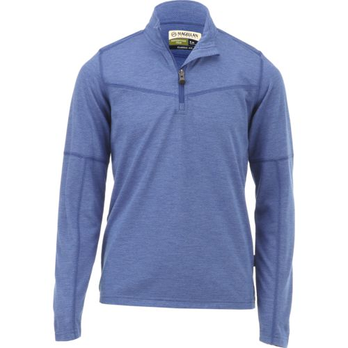 Magellan Outdoors Boys' Woodlake 1/4 Zip Mock Neck Fleece