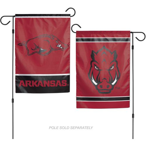 WinCraft University of Arkansas 2-Sided Garden Flag
