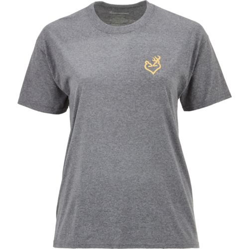Browning Women's Classic Buckheart Fade T-shirt - view number 3