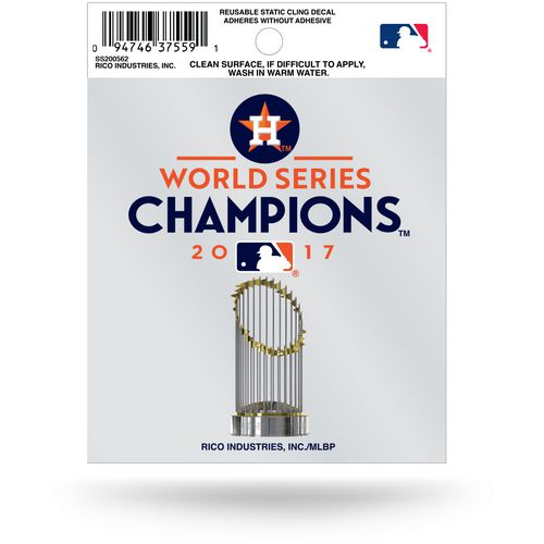 Rico Astros 2017 World Series Champions Small Static Decal