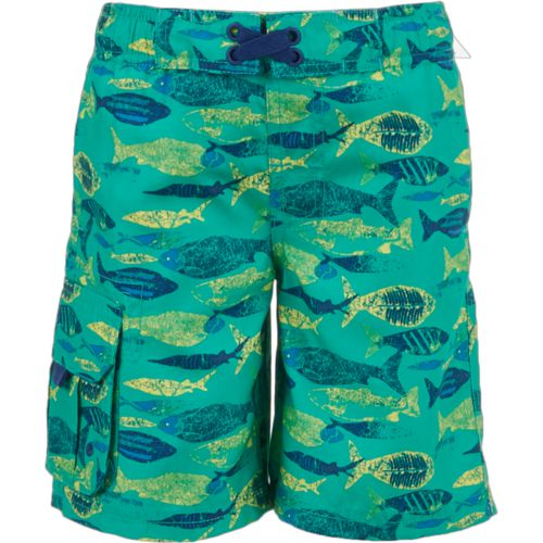 O'Rageous Boys' X-Ray Fish Printed Boardshorts