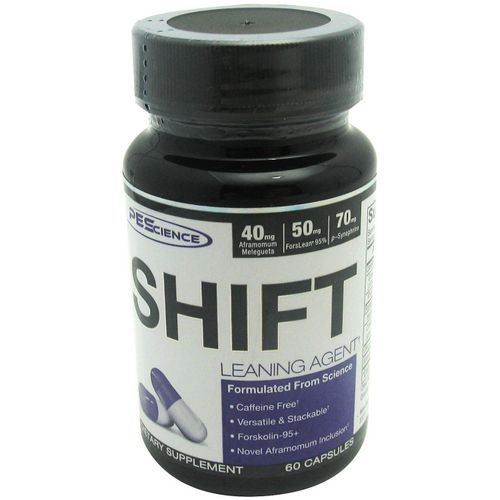 PEScience Shift Leaning Agent Dietary Supplement Capsules