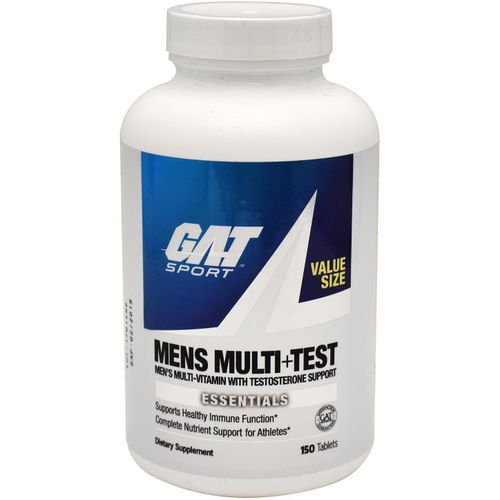 GAT Men's Multi+Test Multivitamin with Testosterone Support