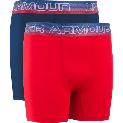 Under Armour Boys' American Boxers 2-Pack - view number 1
