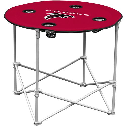 Logo Atlanta Falcons Round Portable Table
