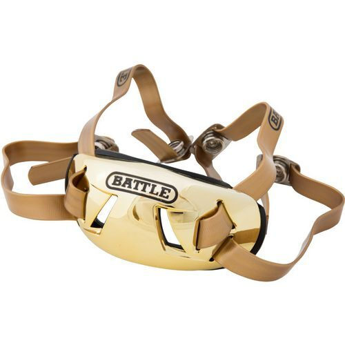 Battle Men's Football Chrome Chin Strap