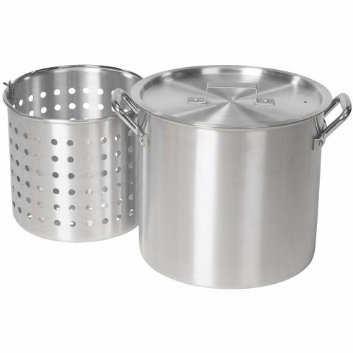 Outdoor Gourmet 24 qt. Aluminum Pot with Strainer