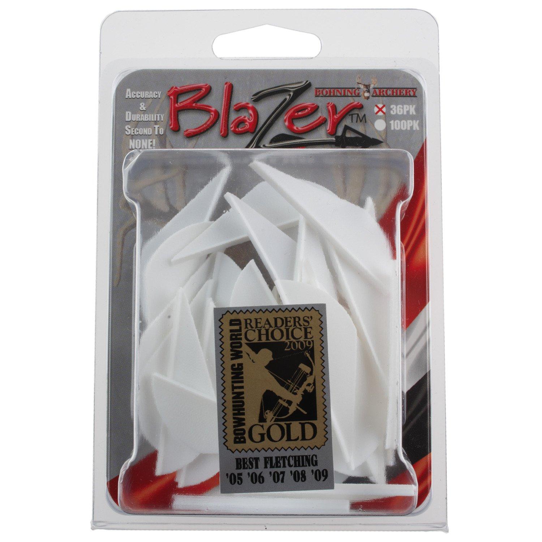 "Bohning Blazer® 2"" White Broadhead Vanes 36-Pack"