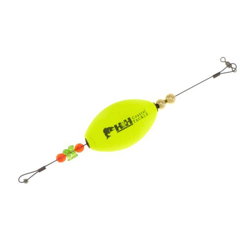 "H&H Lure TKO 2-1/2"" Oval Float Rig"