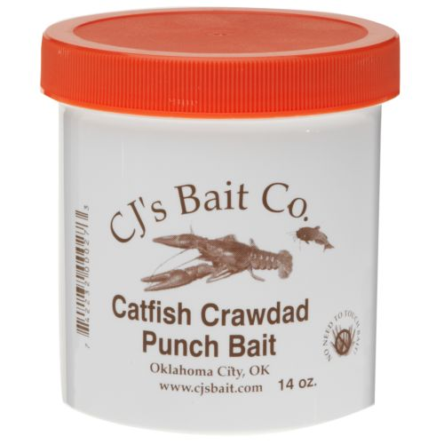 Display product reviews for CJ's Bait Company 14 oz. Catfish Crawdad Punch Bait