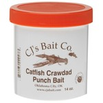 CJ's Bait Company 14 oz. Catfish Crawdad Punch Bait