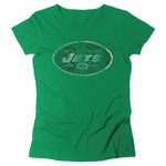 Reebok Women's New York Jets Bigger Better Logo T-shirt