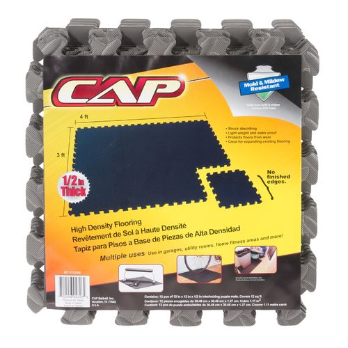 Display product reviews for CAP Barbell Puzzle Mat 12-Pack