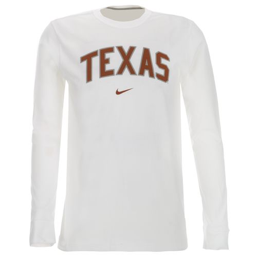 Nike Men's University of Texas Long Sleeve Classic Arch T-shirt