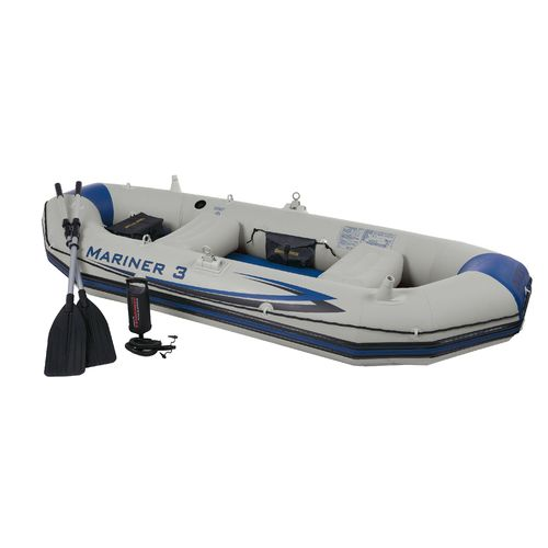 INTEX  Mariner 9 8  3-Person Boat Set