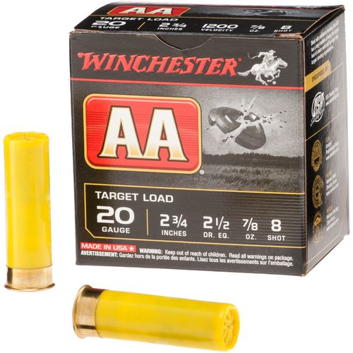 Display product reviews for Winchester AA 20 Gauge 8 Shotshells