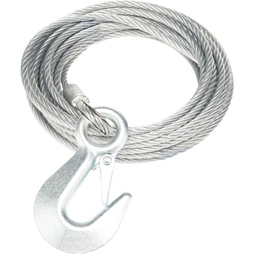 Marine Raider Replacement Winch Cable with Hook - view number 1