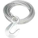Marine Raider Replacement Winch Cable with Hook