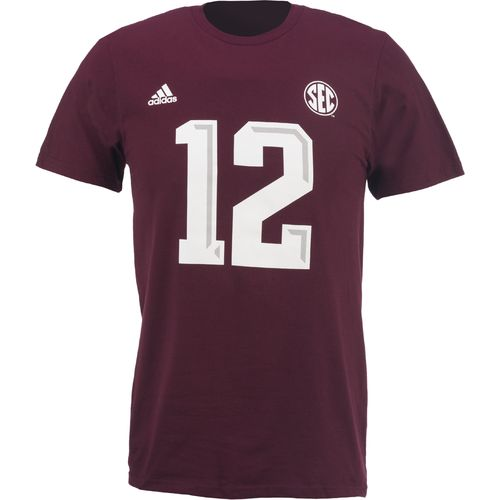 adidas™ Men's Texas A&M University #12 T-shirt